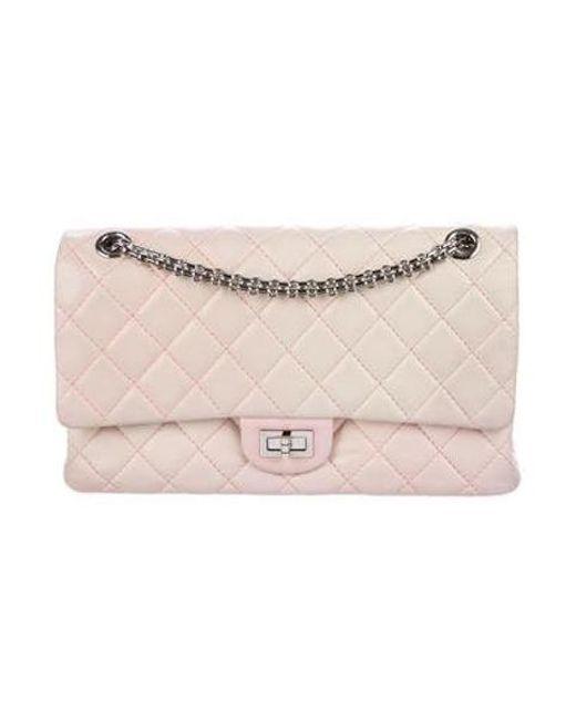 Chanel - Metallic Degradé Reissue 226 Flap Bag Pink - Lyst