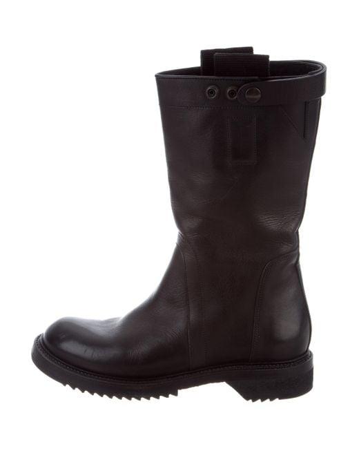 Rick Owens Row Biker Boots buy cheap clearance 9F4dw