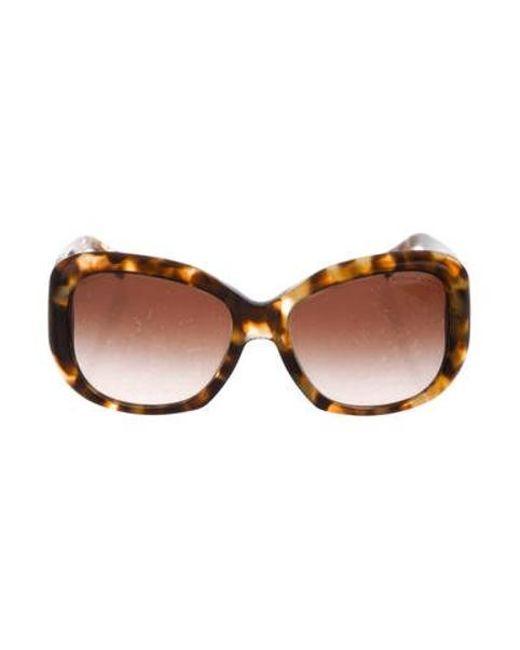 9ebcd7fda0193 Michael Kors - Brown Gradient Oversize Sunglasses - Lyst ...