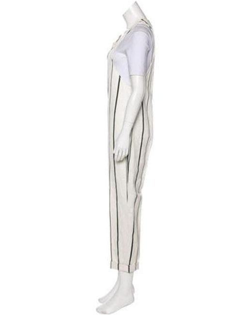 cddc35c8cb9 ... 3.1 Phillip Lim - White Sleeveless Striped Jumpsuit - Lyst ...