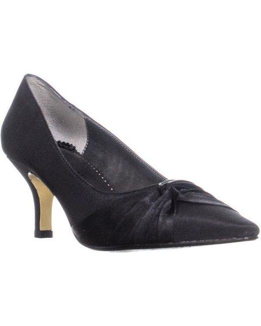 Bella Vita - Black Geyser Pointed Toe Heels - Lyst