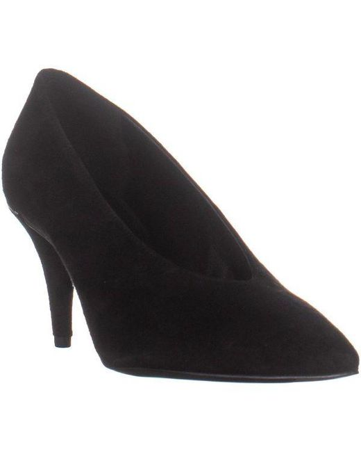 2bffdc7a188 Michael Kors - Black Michael Lizzy Mid Pump Classic Dress Heels - Lyst ...
