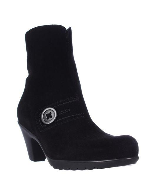 La Canadienne   Dorthea Button Winter Ankle Boots - Black   Lyst