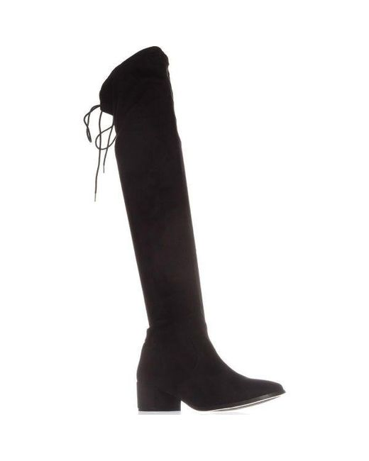 9e4cabc12adc4 Lyst - Chinese Laundry Mystical Pull On Over-the-knee Boots in Black ...