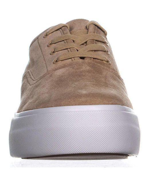 c07a087fbd9 ... Vince - Brown Copley Platform Sneakers - Lyst ...
