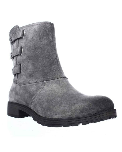 Naturalizer - Gray Tynner Triple Side Strap Boots - Lyst