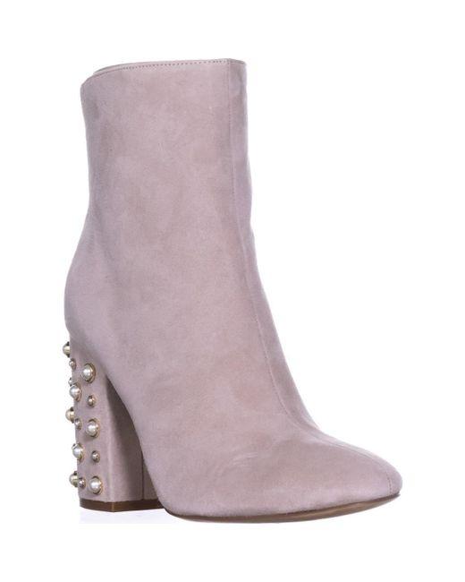 Ivanka Trump - Purple Telora Ankle Boots - Lyst