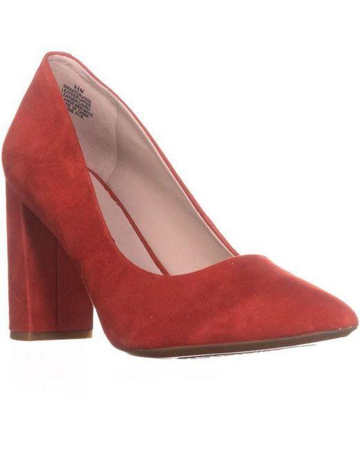 cc4180d3edf8 Nine West - Red Astoria Pointed Toe Dress Pumps - Lyst ...