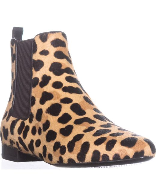 Tory Burch - Brown Orsay Bootie Ankle Boots - Lyst