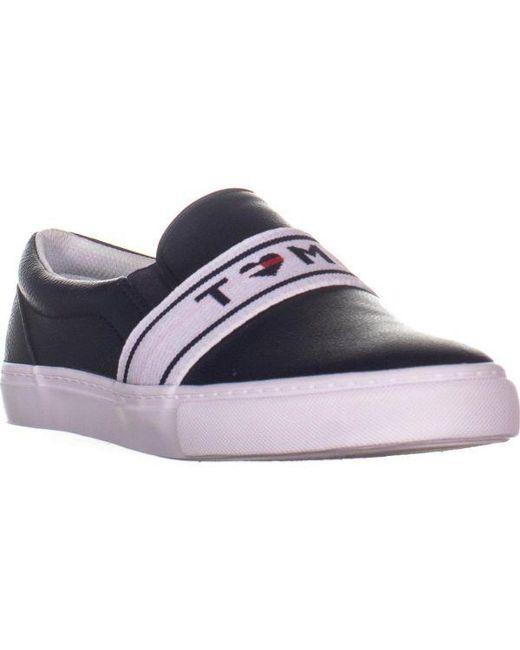 83b9ecf7855f8 Tommy Hilfiger - Blue Lourena Slip On Sneakers - Lyst ...