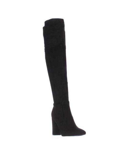 Ivanka Trump | Rylee Rear Zip Over The Knee Boots - Black | Lyst