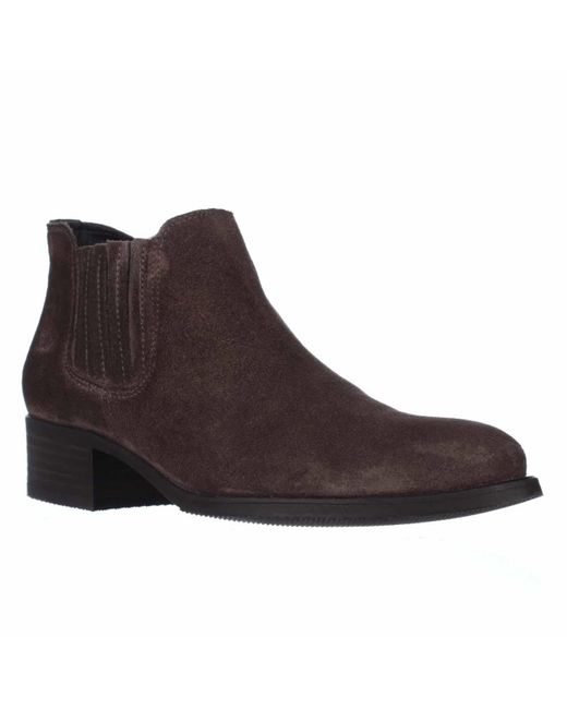 paul green carly chelsea ankle boots in purple green. Black Bedroom Furniture Sets. Home Design Ideas