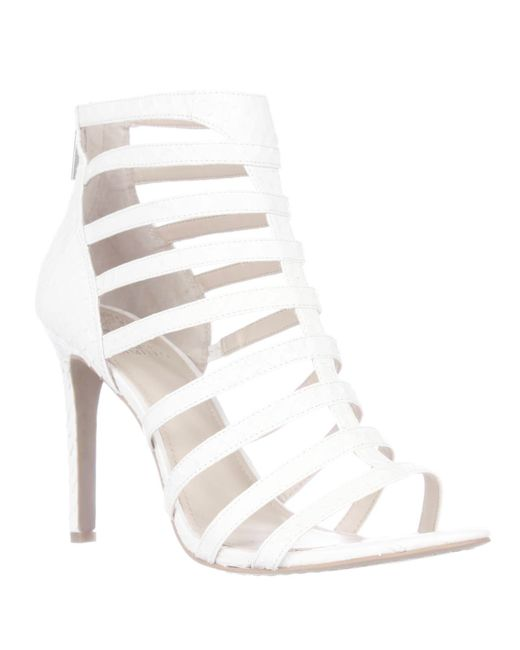 Vince Camuto | White Kamella Strappy Dress Sandals | Lyst
