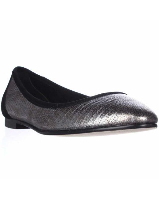 Via Spiga | Metallic Demetria Ballet Flats | Lyst