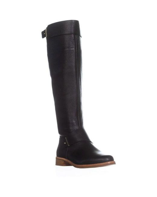 French Connection - Black Grant Riding Boots - Lyst