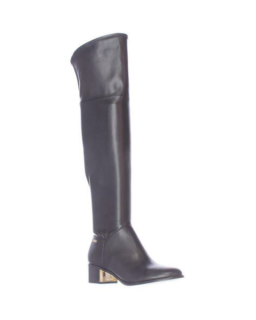 CALVIN KLEIN 205W39NYC - Carli Pull On Over The Knee Boots - Black - Lyst