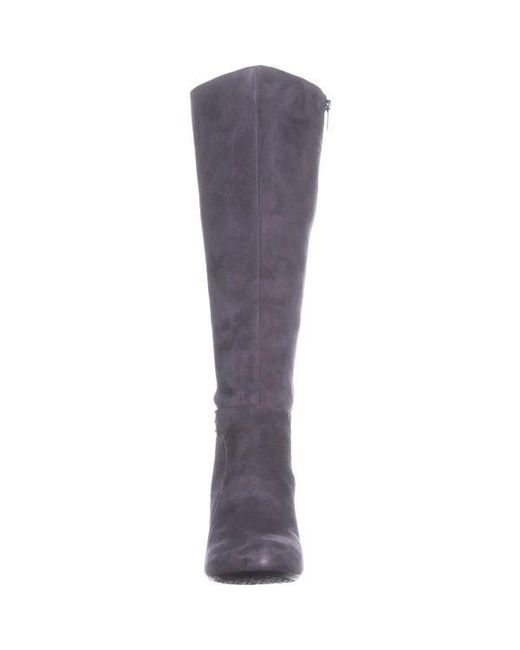 bda54a8eb78 ... Bandolino - Gray Lamari Wide Calf Fashion Boots - Lyst ...