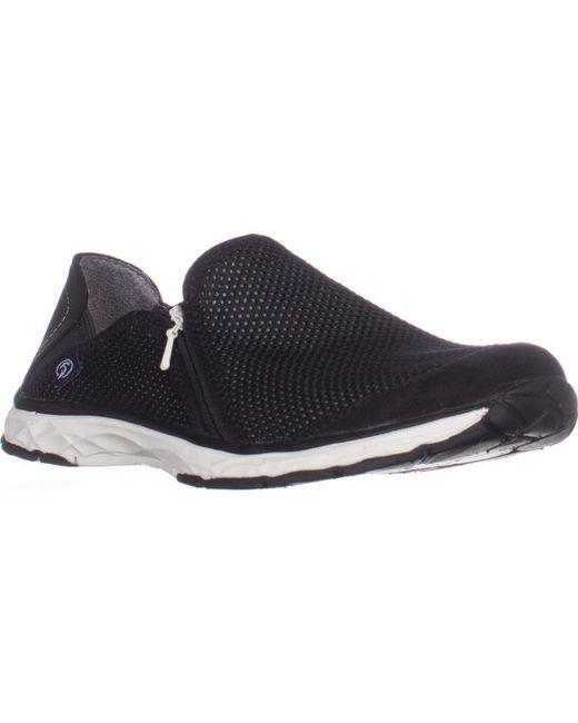 Dr. Scholls | Black Dr. Scholls Anna Zip Fashion Sneakers | Lyst
