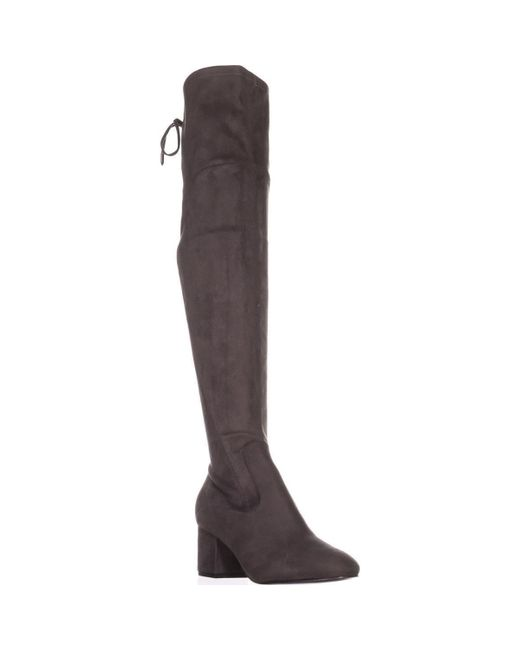 Ivanka Trump - Gray Pelinda Over The Knee Boots - Lyst