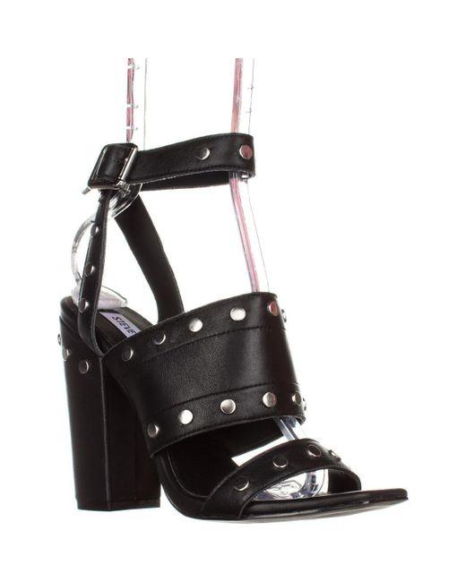 ab03865b3c2 Lyst - Steve Madden Jansen Ankle-strap Dress Sandals in Black - Save 13%