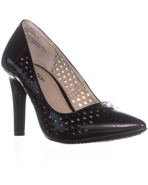 676e925449b Lyst - Rialto Riatlo Moreen Pointed Toe Slip On Pumps in Black ...