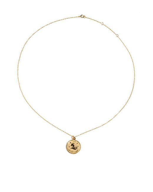 Fallon - Multicolor Capricorn Necklace - Lyst
