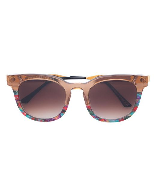 417c20969c Thierry Lasry - Multicolor Printed Square Sunglasses - Lyst