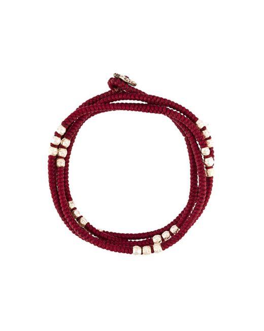 M. Cohen | Red Beaded Bracelet | Lyst