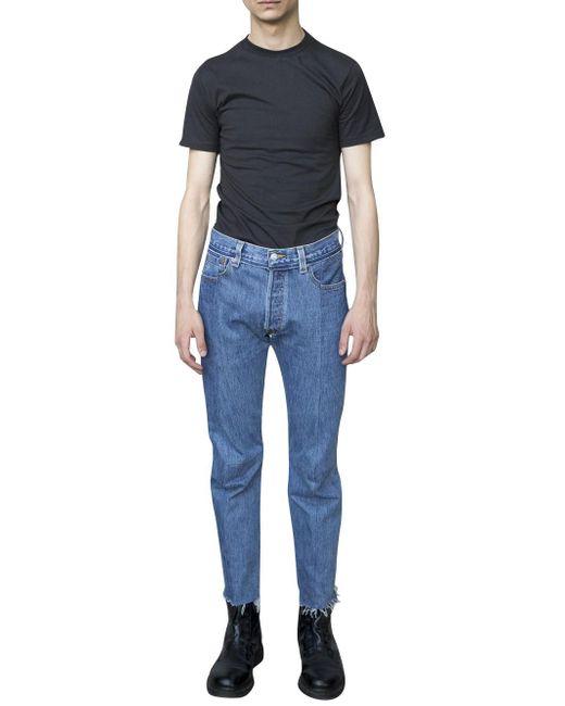 Vetements   Blue X Hanes T-shirt for Men   Lyst
