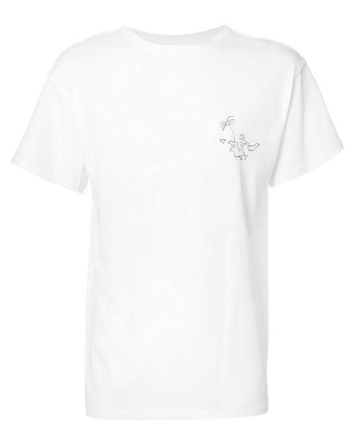 The Elder Statesman | White Classic T-shirt for Men | Lyst