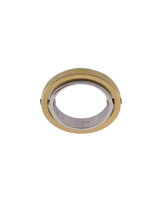 Charlotte Chesnais - Metallic Elipse Ring - Lyst