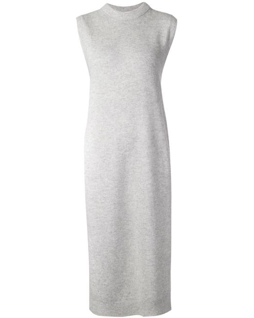 T By Alexander Wang | Gray Cotton and Modal-blend Tank | Lyst