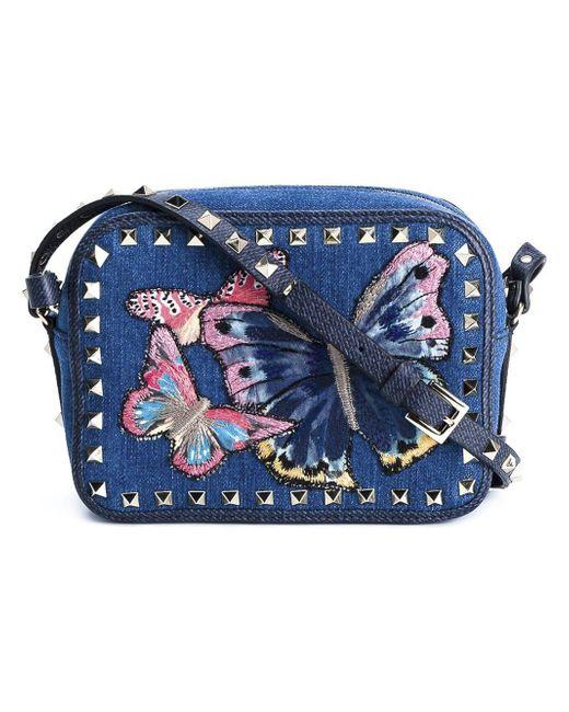 Valentino - Multicolor Butterfly 'crossbody' Bag - Lyst