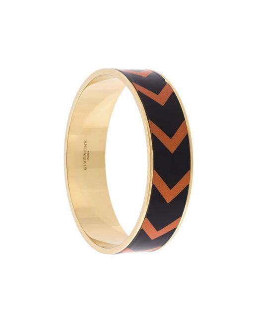 Givenchy | Blue Chevron Pattern Bracelet | Lyst