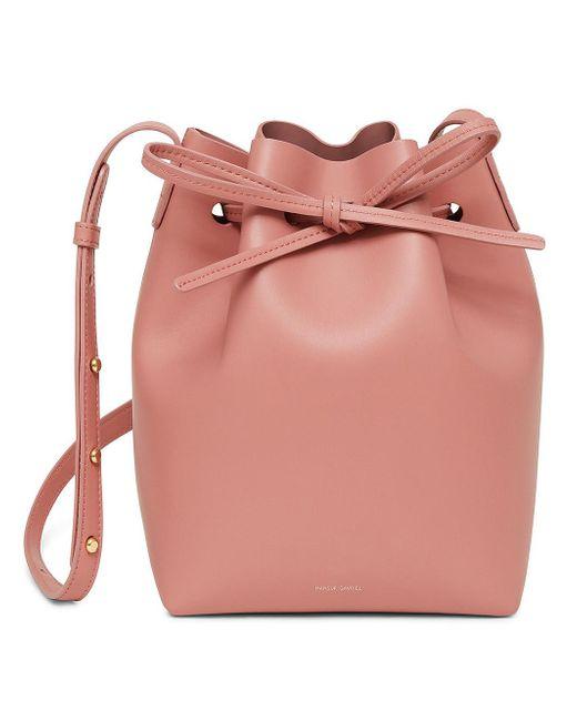 Mansur Gavriel - Pink Mini Bucket Bag - Lyst