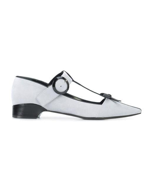 Fabrizio Viti - Multicolor City Bow Ballerina Shoes - Lyst