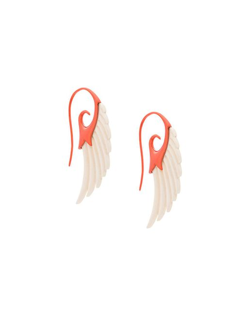 Noor Fares   Multicolor Fly Me To The Moon Wing Earrings   Lyst