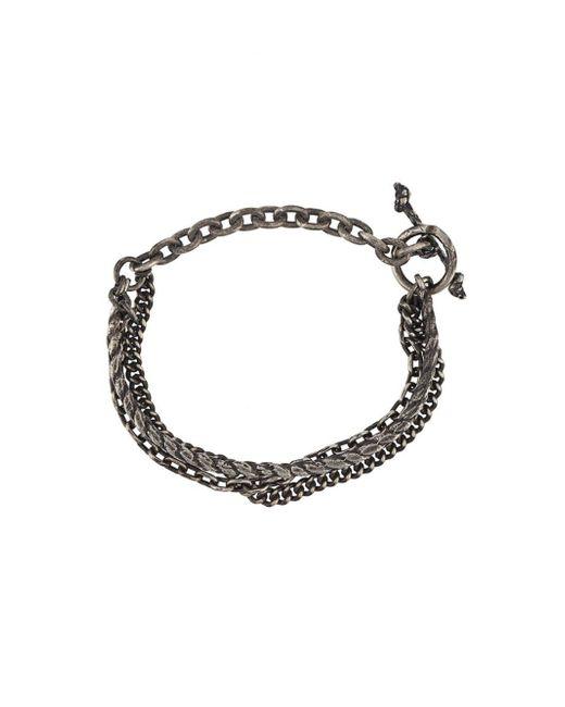 M. Cohen | Multicolor Braided Chain Bracelet for Men | Lyst