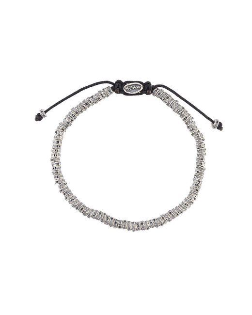 M. Cohen - Multicolor 'mini Fish Bone' Bracelet for Men - Lyst