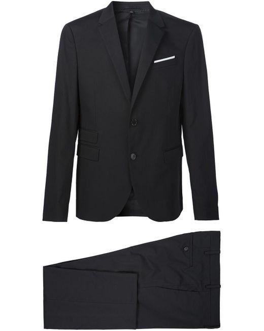 Neil Barrett - Black Two Piece Suit for Men - Lyst