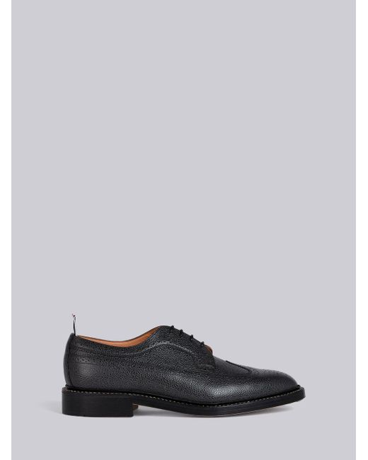 Thom Browne - Gray Welt Stitch Classic Longwing Brogue for Men - Lyst