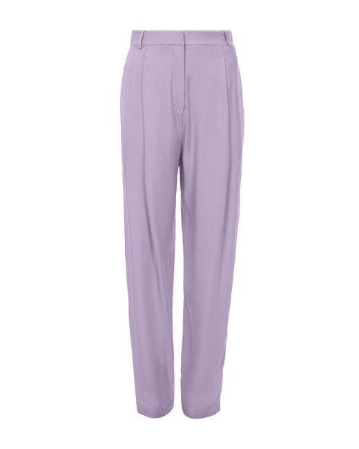 Tibi - Purple Sculpted Pants - Lyst
