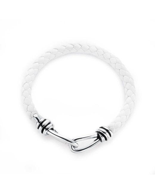 Tiffany & Co | White Knot Single Braid Bracelet | Lyst