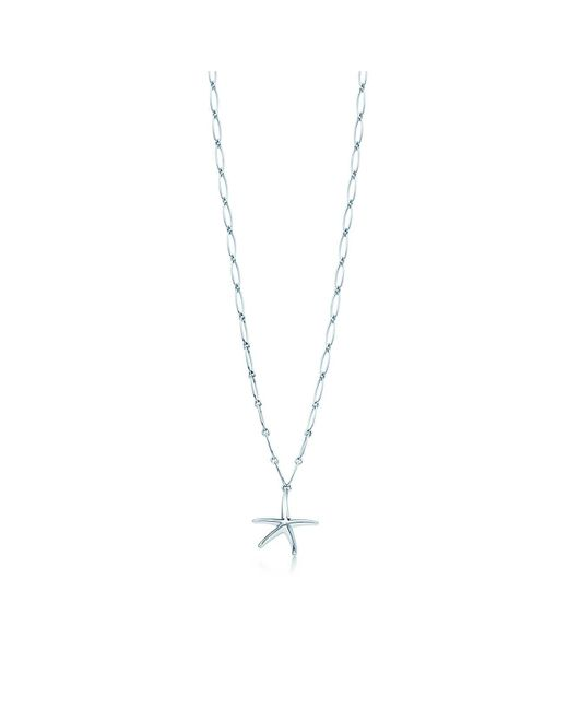 Tiffany & Co | Metallic Starfish Necklace | Lyst