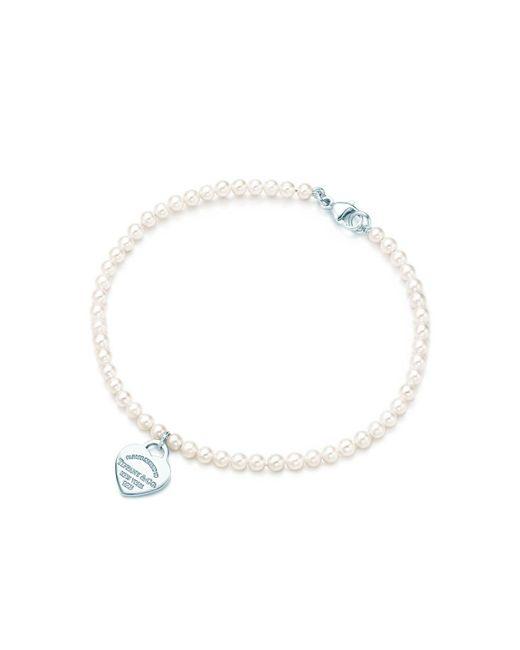 Tiffany & Co | Metallic Pearl Bracelet | Lyst