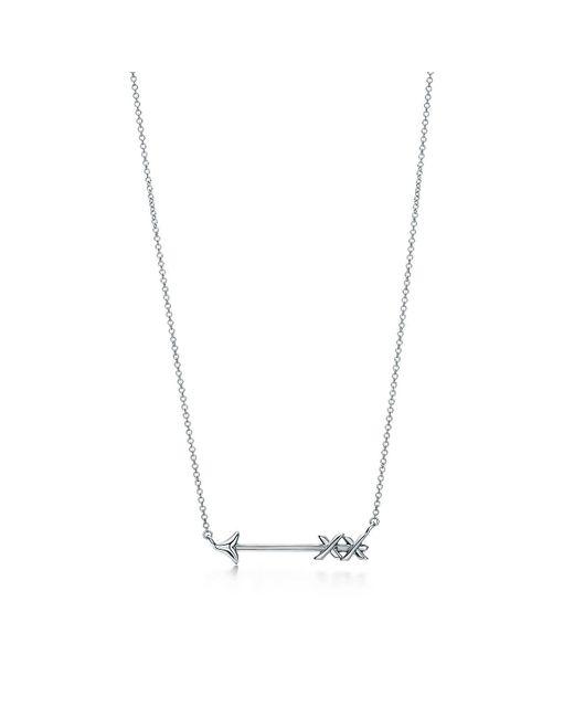 Tiffany & Co   Metallic Arrow Pendant   Lyst