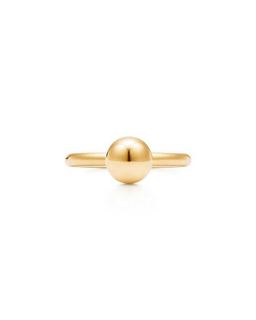 Tiffany & Co - Metallic Ball Ring - Lyst