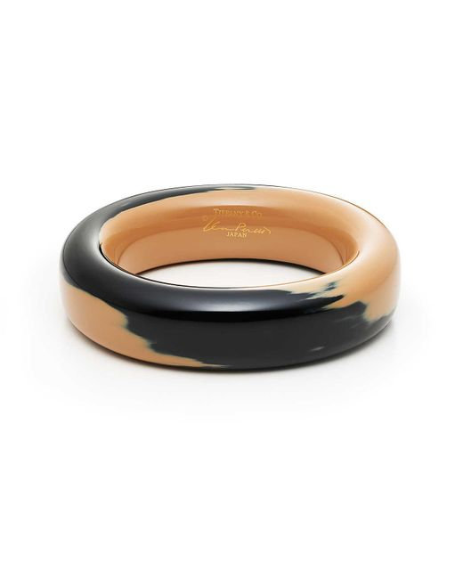 Tiffany & Co - Black Negoro Lacquer Bangle - Lyst