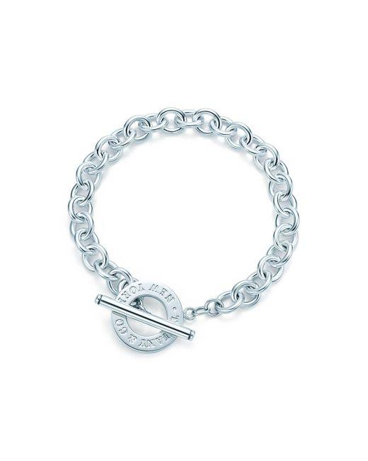 Tiffany & Co - Metallic Toggle Bracelet - Lyst