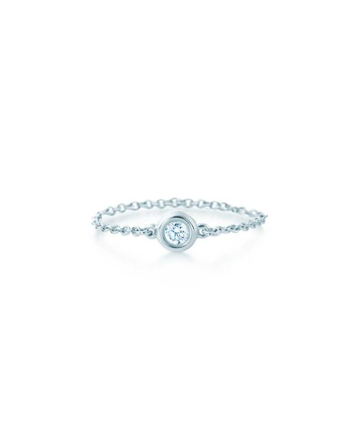 62422d591 Tiffany & Co. Diamonds By The Yard® Ring in Metallic - Lyst